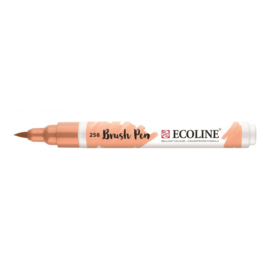 Ecoline brushpen abrikoos 258