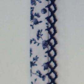 Biaisband blauwe bloemen (34)