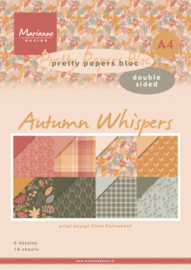 Paperbloc Pretty Papers bloc DZ Eline's Autumn Whispers PB7059