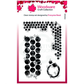 Clear stamp Grungy Dots