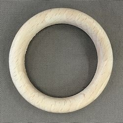 Houten ring 70 x 10 mm blank