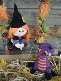 Haakpakket Funny Witchy set