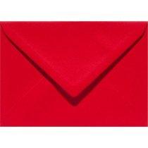 envelop rechthoekig 114x162mm - C6 rood (918) voorheen 12 fiëstarood