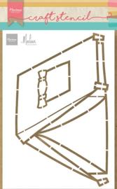 Craft stencil Tent PS8088