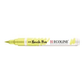 Ecoline brushpen pastelgeel 226