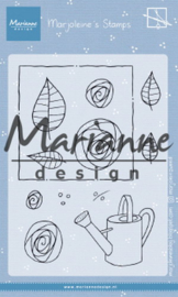 Clear stamp: (MZ 1901) Marjoleine's roses