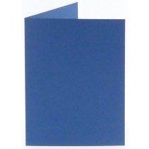 rechthoekige staande kaart (10,5 x 14,8 cm) royal blue (972)