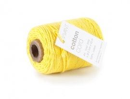 Koord (katoen) geel