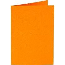 rechthoekige staande kaart (10,5 x 14,8 cm) oranje (911) voorheen 11 oranje