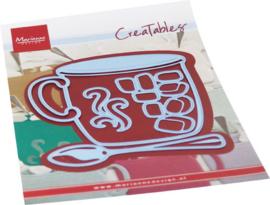 Creatables stencil Hot drink LR0687
