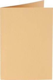 rechthoekige staande kaart (10,5 x 14,8 cm) caramel (926) voorheen 26 caramel