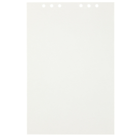 (Art.no. 920708) 20 vel MyArtBook Paper 120 GSM Offwhite drawingpaper Size 210 x 314 mm (A4)