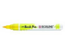 Ecoline brushpen citroengeel 205