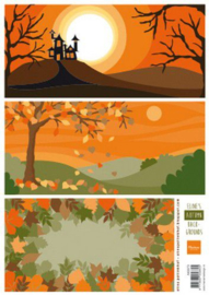 Knipvel Eline's Autumn Backgrounds AK0073