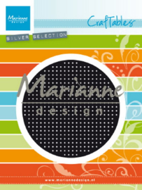 Craftables (CR1465) cross stitch circle