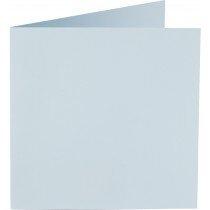 vierkante kaart (13,2 x 13,2 cm) babyblauw (956)