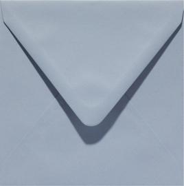 vierkante envelop (14 x 14 cm) wolkengrijs (929)