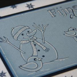 Clear stamp: (MZ 1905) Marjoleine's sneeuwman