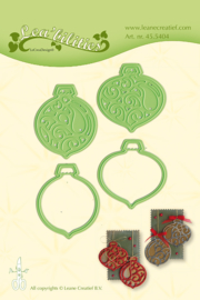 Lea'bilitie mal Christmas ornaments (455404)