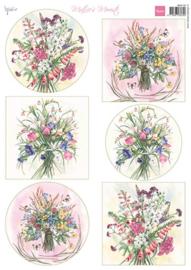 knipvel Mattie's mooiste Field Bouquets MB0192