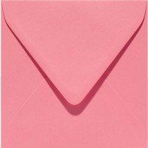 vierkante envelop (14 x 14 cm) hardroze (915) voorheen 15 rose