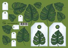 1108 Tropische bladeren