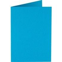rechthoekige staande kaart (10,5 x 14,8 cm) hemelsblauw (949) voorheen 05 korenblauw