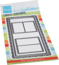 Craftables stencil Slimline-mini Windows CR1563