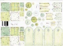 vel: patchwork groen