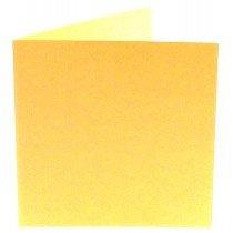 vierkante kaart (13,2 x 13,2 cm) vanille (963) lijkt op lichtgeel 29