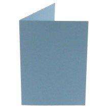 rechthoekige staande kaart (10,5 x 14,8 cm) lichtblauw (964) lijkt op ijsblauw 42