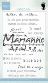 Clear stamp: (WS2224) Silence NL