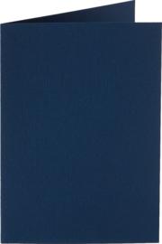 rechthoekige staande kaart (10,5 x 14,8 cm) nachtblauw (941) voorheen 41 nachtblauw