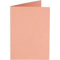rechthoekige staande kaart (10,5 x 14,8 cm) abrikoos (924) voorheen 24 abrikoos