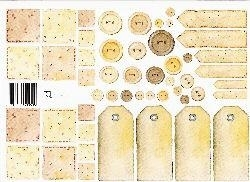 vel: patchwork goudbruin