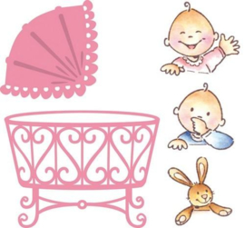 Collectables (CO1313) Eline's baby crib