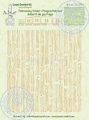 Embossing folder Leane: background wood (353769)