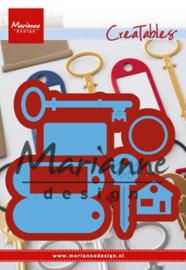 Creatables (LR0523) key ring