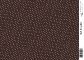 1443 dark brown dot