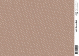 1429 light brown dot