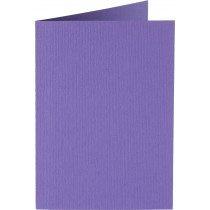 rechthoekige staande kaart (10,5 x 14,8 cm) paars (946) voorheen 46 paars