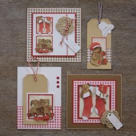 Voorbeeld kaarten kerstberen