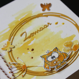 Clear stamp Leane: Owly / School (555671)