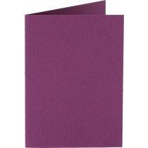 rechthoekige staande kaart (10,5 x 14,8 cm) aubergine (909)
