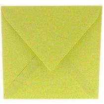 vierkante envelop (14 x 14 cm) zachtgroen (970) lijkt op lichtgroen 47