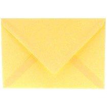 envelop rechthoekig 114x162mm - C6 vanille (963) lijkt op lichtgeel 29
