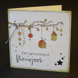Clear stamp Handgeschreven Kerst CS1067