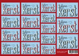 1245 kaartjes kerst blauw rood