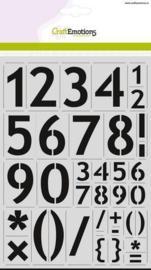 cijfers basic A4 - H=57mm (2213)