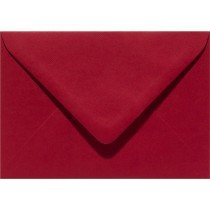 envelop rechthoekig 114x162mm - C6 kerstrood (943) voorheen 43 kerstrood